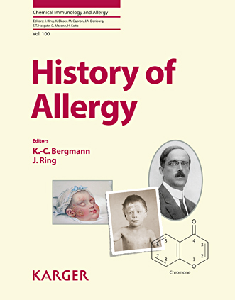 History of Allergy(Chemical Immunology & Allergy, Vol.100)