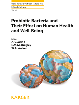 World Review of Nutrition & Dietetics, Vol.107- Probiotic Bacteria & Their Effect on Human Health &Well-Being