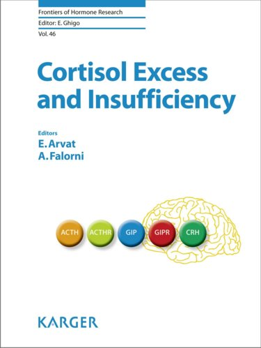 Frontiers of Hormone Research Vol.46- Cortisol Excess and Insufficiency
