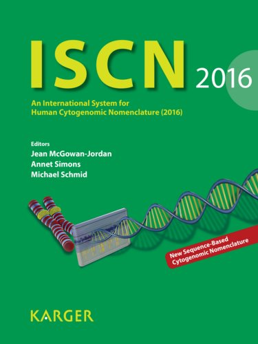 "Iscn 2016: International System for Human CytogeneticNomenclature (2016)(Reprint of ""Cytogenetic & Genome Research 2016,Vol.149, No.1-2)"