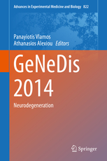 Advances in Experimental Medicine & Biology, Vol.822- Genedis 2014: Neurodegeneration