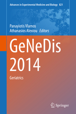 Advances in Experimental Medicine & Biology, Vol.821- Genedis 2014: Geriatrics