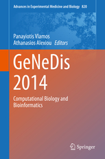 Advances in Experimental Medicine & Biology, Vol.820- Genedis 2014: Computational Biology & Bioinformatics