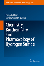 Handbook of Experimental Pharmacology, Vol.230- Chemistry, Biochemistry & Pharmacology of HydrogenSulfide