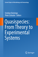 Current Topics in Microbiology & Immunology, Vol.392- Quasispecies: from Theory to Experimental Systems