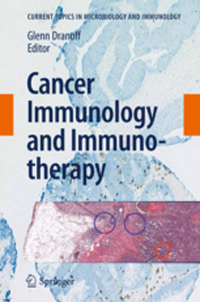 Cancer Immunology & Immunotherapy(Current Topics in Microbiology & Immunology, Vol.344)