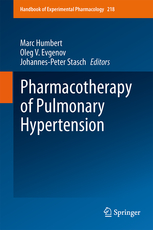 Handbook of Experimental Pharmacology, Vol.218- Pharmacotherapy of Pulmonary Hypertension