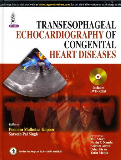 Transesophageal Echocardiography of Congenital HeartDiseases