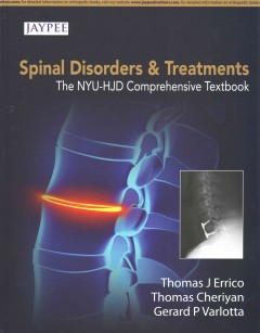 Spinal Disorders & Treatment- NYU-HJD Comprehensive Textbook