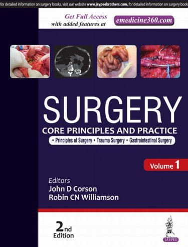 Surgery, 2nd ed. in 2 vols.- Core Principles & Practice