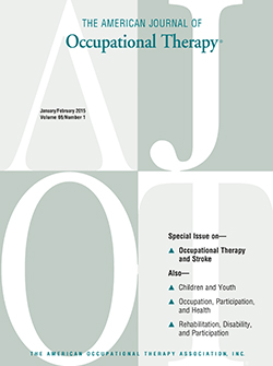 American Journal of Occupational Therapy