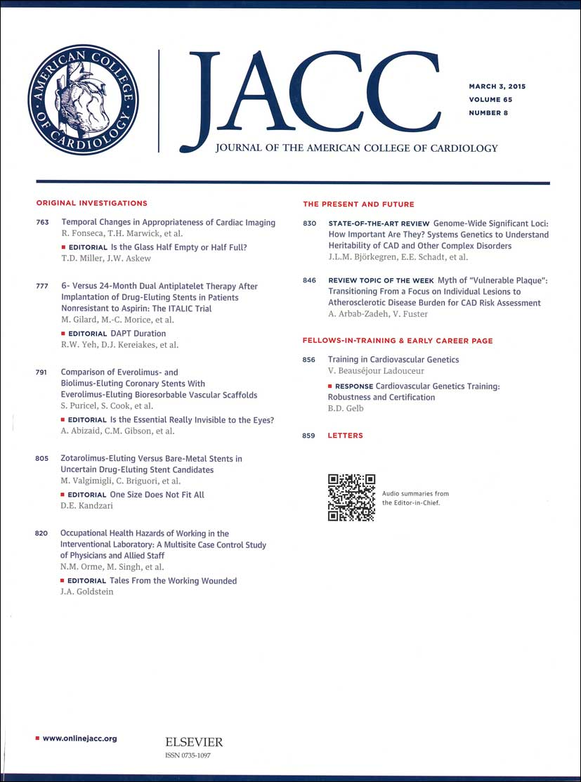 Journal of American College of Cardiology