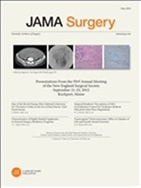 "JAMA SurgeryFormerly ""Archives of Surgery"""