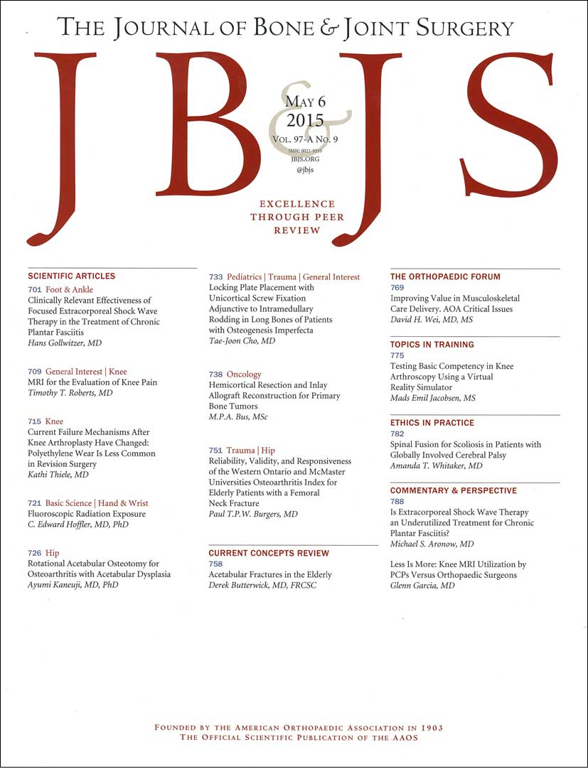 Journal of Bone & Joint Surgery-American Volume