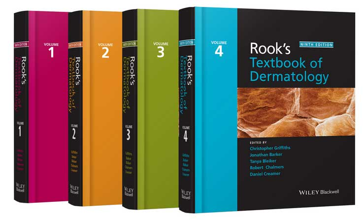 Rook's Textbook of Dermatology, 9th ed., in 4 vols.