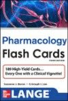 Lange Flash Cards: Pharmacology, 3rd ed.- 230 Cards Deliver a Fun, Fast, High-Yield Review for