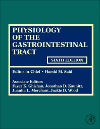 Physiology of the Gastrointestinal Tract, 6th ed.,In 2 vols.