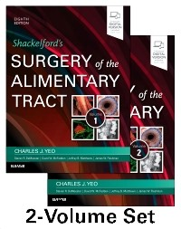 Shackelford's Surgery of the Alimentary Tract, 8th ed.,In 2 vols.