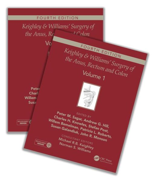 Keighley & Williams Surgery of Anus, Rectum & Colon,4th ed.