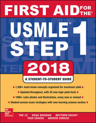First Aid for the USMLE Step 1, 2018 (28th ed.)