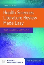 Health Sciences Literature Review Made Easy, 5th ed.- Matrix Method