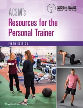 ACSM's Resources for the Personal Trainer, 5th ed.(American College of Sports Medicine)