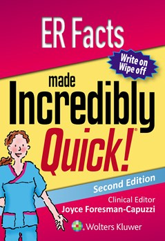ER Facts Made Incredibly Quick, 2nd ed.(Incredibly Easy! Series)