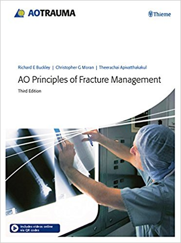 AO Principles of Fracture Management, 3rd ed.in 2 vols.Vol.1:Principles, Vol.2:Specific Fractures