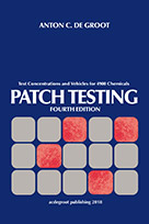 Patch Testing, 4th ed.- Test Concentrations & Vehicles for 4900 Chemicals