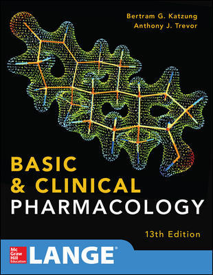 Basic & Clinical Pharmacology, 13th ed.(Int'l ed.)