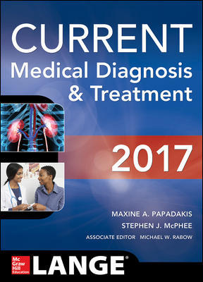 Current Medical Diagnosis & Treatment 2017 (56th ed.)