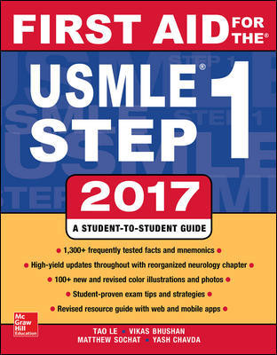 First Aid for the USMLE Step 1, 2017 (27th ed.)